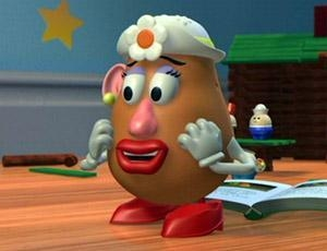 Mrs. Potato Head looking distressed from The Spiritual Mechanics of Diabetes blog