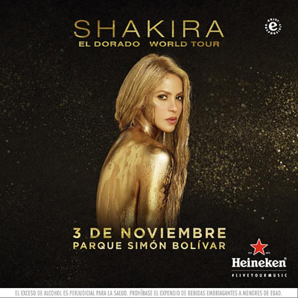 Shakira-reciente-album