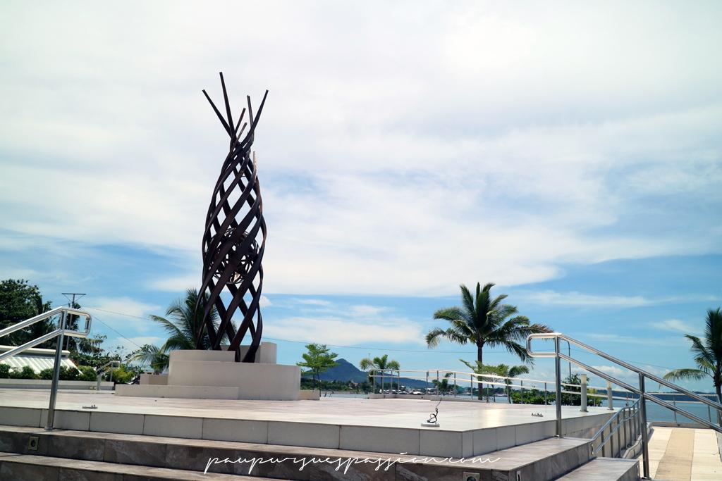 Yolanda memorial, Tacloban, Leyte