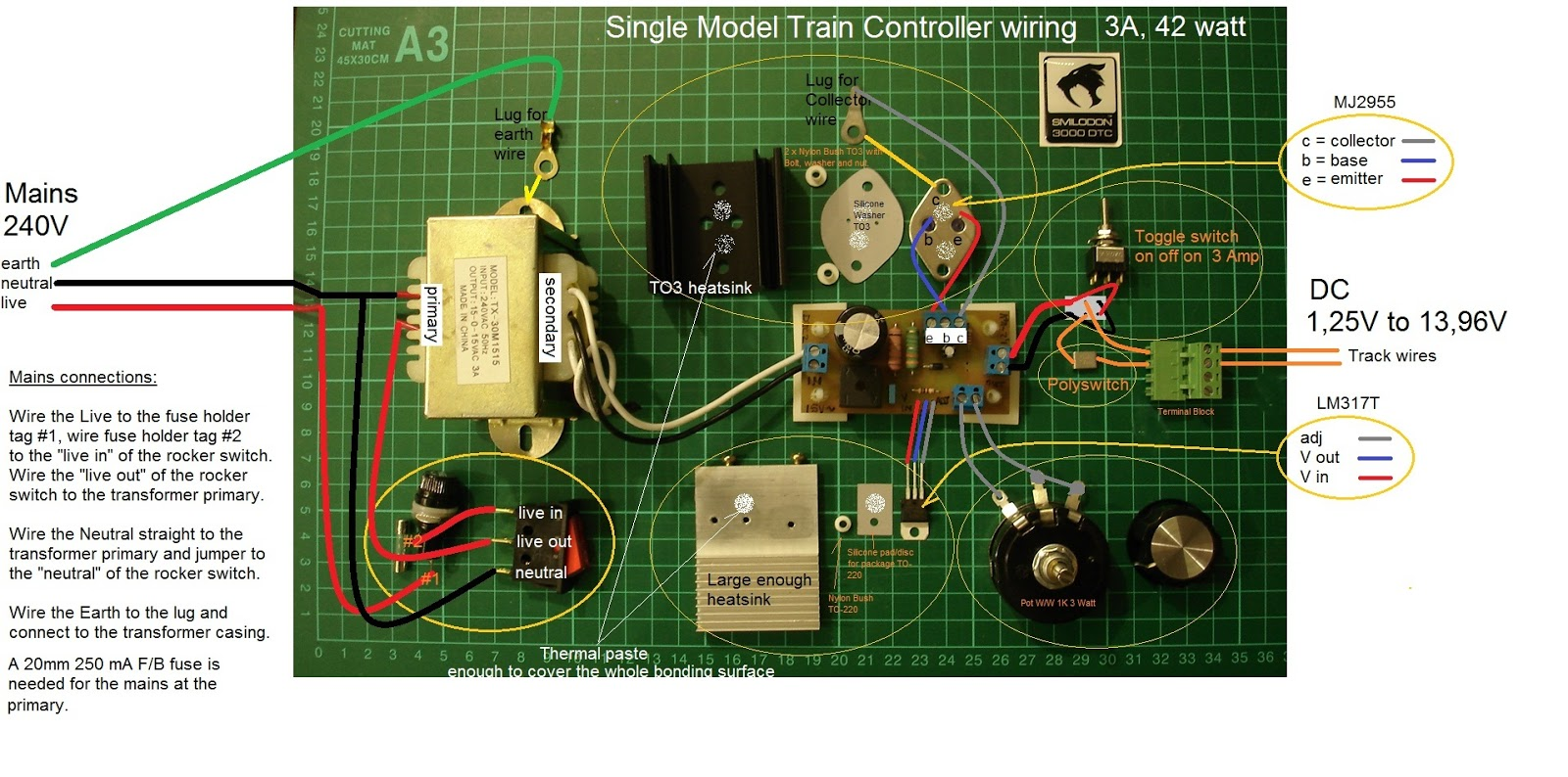 Aliwal North Sar Layout Dc Model Train Controllers Wiring Diagram 96v 20 Mm 250 Ma F B Fuse Meaning A Fast Blow Glass 20mm Long