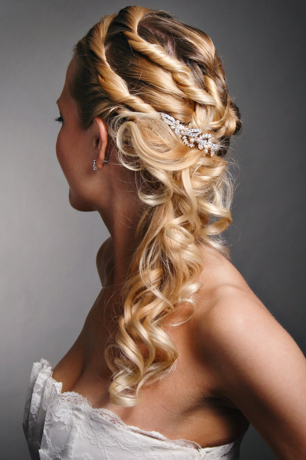 Hairstyles For Brides Or For Wedding Prom 2018 Hairstyles Newly