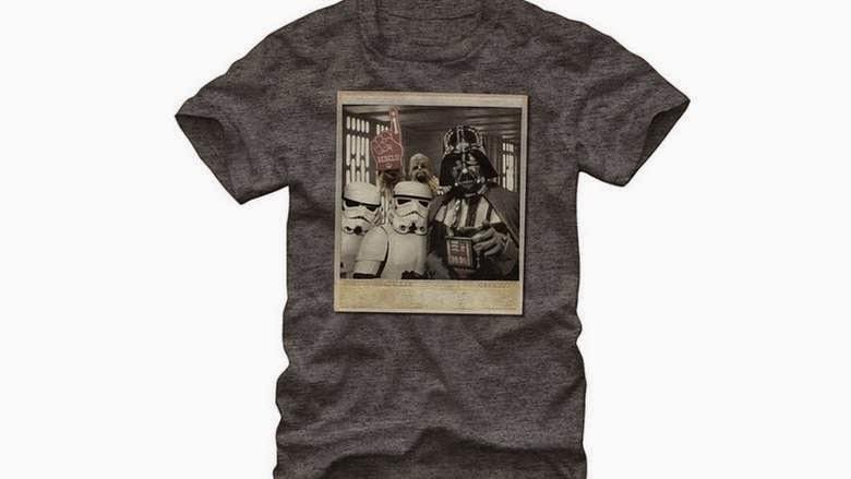 Star Wars Men's Wookiee Photo Bomb T-Shirt