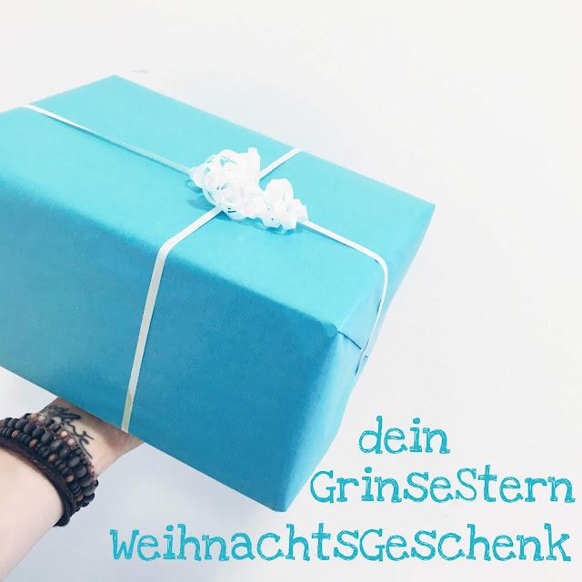 GrinseStern, Weihnachtsgeschenk, DIY, Grinsesternweihnachtsgeschenk