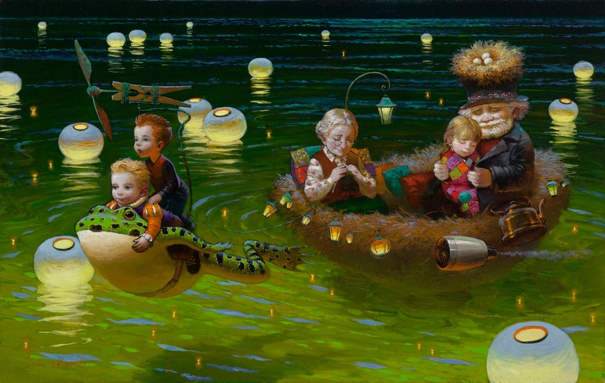 01-No-Name-Victor-Nizovtsev-Daydreaming-with-Fantasy-Oil-Paintings-www-designstack-co