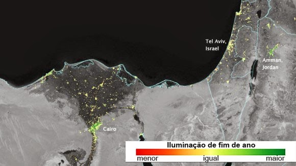 Ramadã visto do espaço