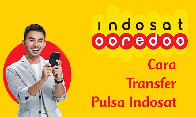 Cara Transfer Pulsa Indosat Ooredoo ke Indosat Ooredoo 14