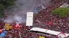 AeroFla: veja festa da torcida no embarque do Flamengo rumo ao Peru