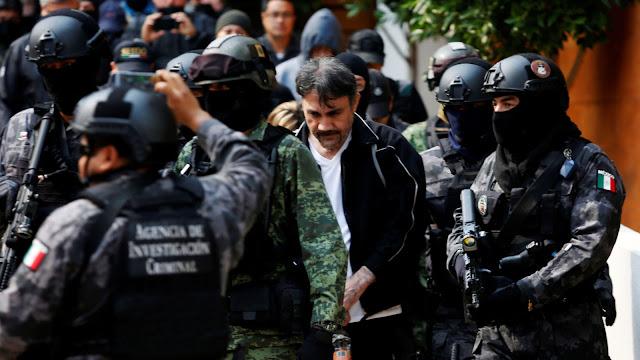 Dámaso López, o braço direito de Joaquin 'El Chapo' Guzmão, foi capturado na terça-feira com a ajuda do exército mexicano