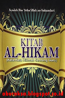 Download Terjemah, Kitab Hikam, Ibnu At-Thailah, pdf
