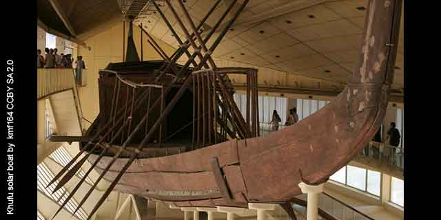 Fact #15: Khufu's amazing FUNERARY Solar SHIP (learn more)