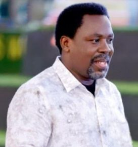 TB Joshua named in Ghana arm€d robbery arrest