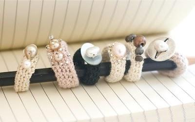 Como hacer Anillos de Crochet con Abalorios