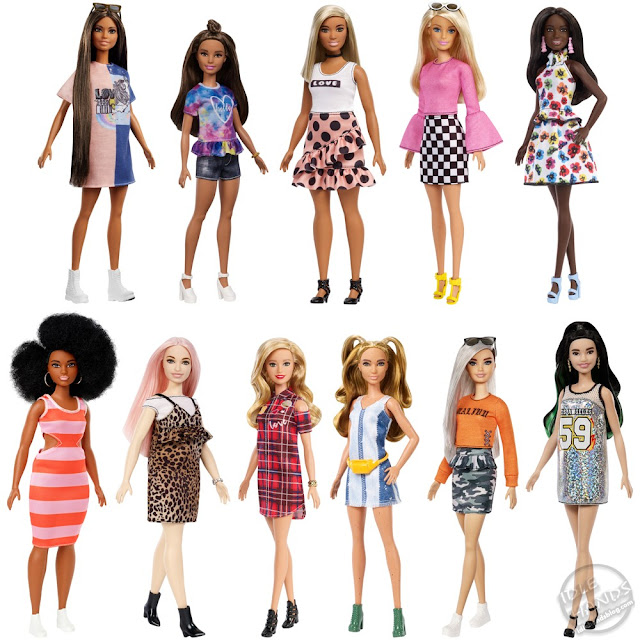 Toy Fair 2019 Mattel Barbie Fashionista Doll Assortment 17