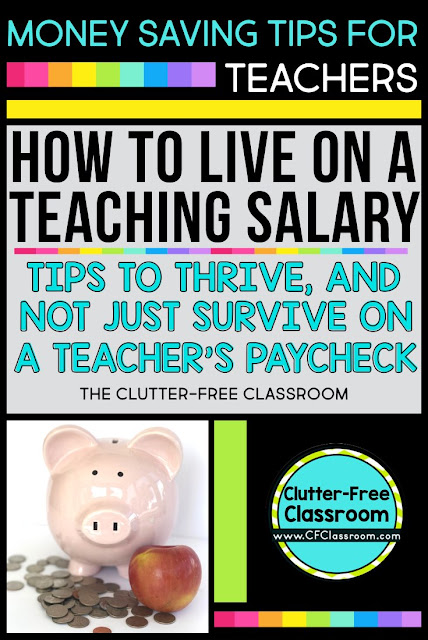 "Are you wondering, ""How can I earn extra money as a teacher?"" You can't increase your teaching salary, but you can stretch that budget to not only survive, but also thrive on a teacher paycheck."