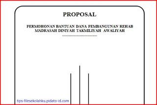 Proposal Permohonan Dana Rehab Bangunan MDTA Lengkap