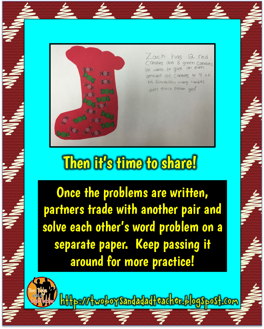 Math Tip Monday December Keeping Math Meaningful - Two Boys and a Dad