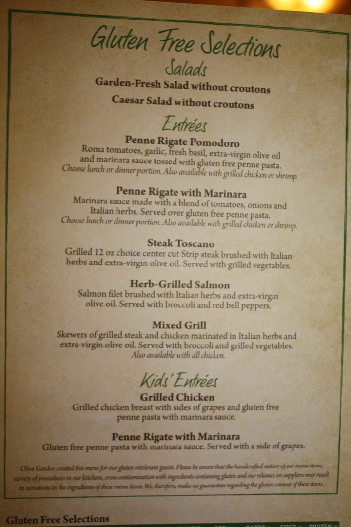 Olive Garden Menu Pdf: The 20 Best Ideas For Olive Garden Dinner Menu