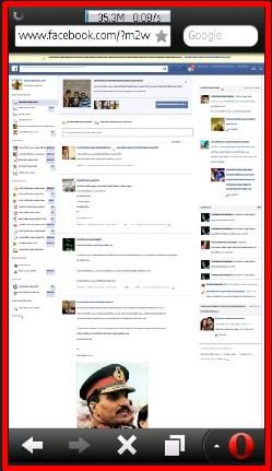 open facebook website