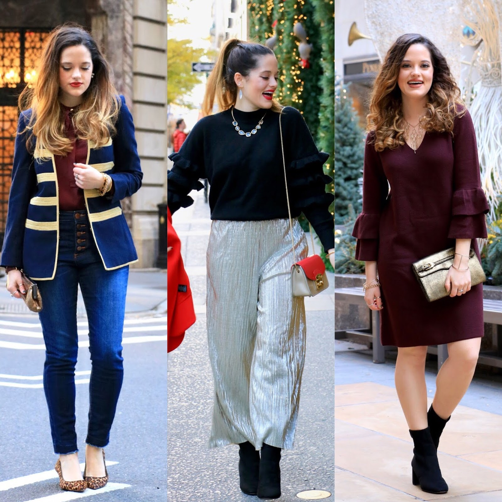 Holiday fashion from a fashion blogger