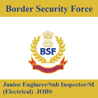 Border Security Force, BSF, Ministry of Home Affairs, Govt. of India, freejobalert, Sarkari Naukri, BSF Admit Card, Admit Card, bsf logo