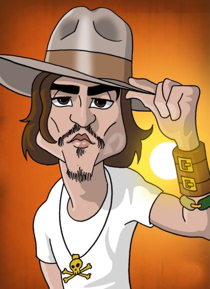 Johnny Depp Cartoon Ph... Johnny Depp