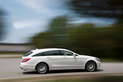 Mercedes CLS Shooting Brake: Coupe Estate