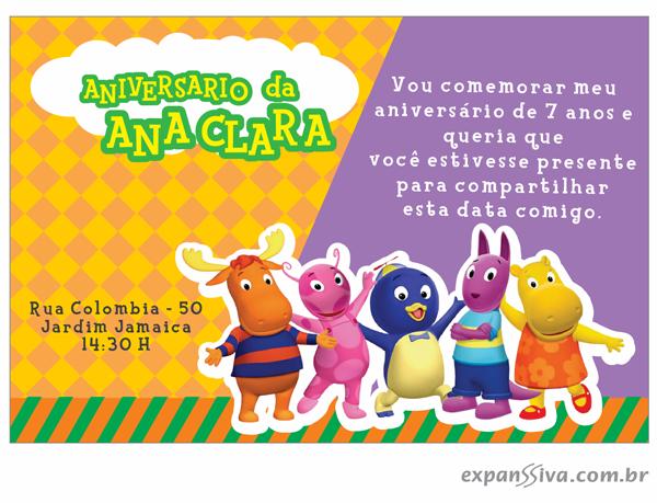 modelos deconvites de aniversario infantil Backyardigans %2B06 - Convites de Aniversário Infantil Backyardigans
