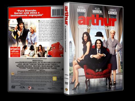 Capa DVD Arthur: O Milionário Irresistível
