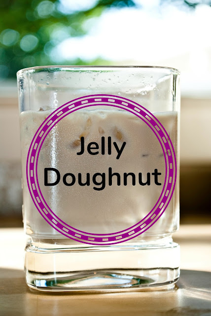 Mixing Bailey's Irish Cream Liqueur and Chambord creates a fantastic jelly doughnut.