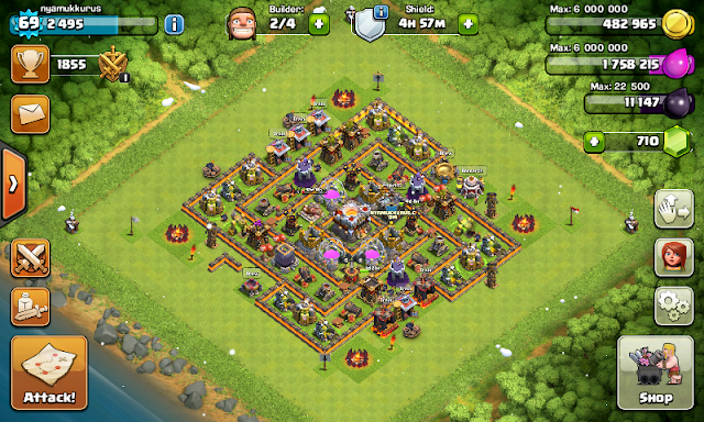 Clash of Clans Mod Skin Buildings