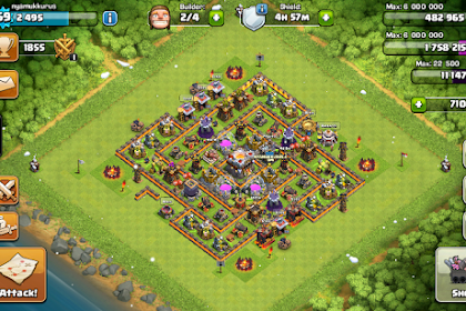 Tutorial Clash of Clans Mod Skin Buildings
