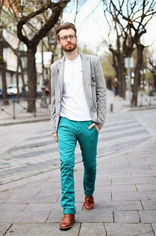 homme les r gles pour porter des pantalons de couleur styliste pour emporter. Black Bedroom Furniture Sets. Home Design Ideas
