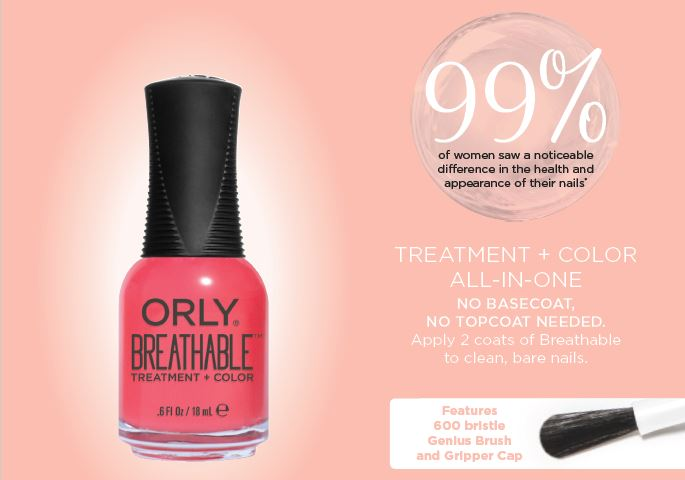 Beauty By Gaby: ORLY Breathable Nailpolish
