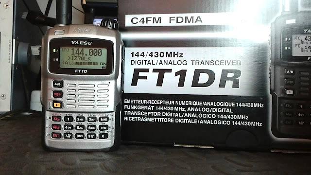 Yaesu FT-1DR Handie Talkies