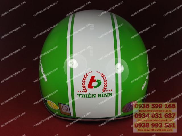 Xưởng làm mũ bảo hiểm quảng cáo giá rẻ, nơi in mũ bảo hiểm quà tặng,