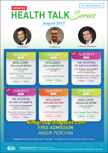 foto Health Talk Series August 2017