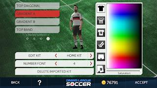 Dream league soccer game sepakbola terbaik untuk android