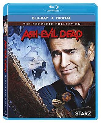 Ash Vs Evil Dead Complete Series Blu Ray