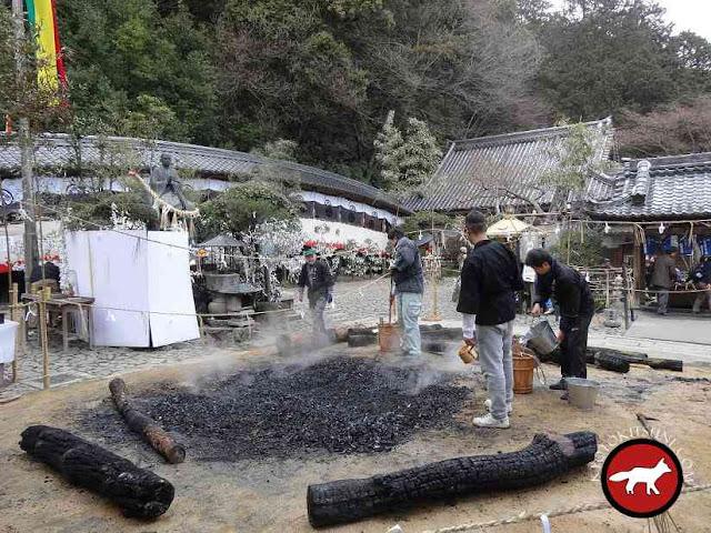 Temple Tachikikannon à Otsu pour fêter setsubun