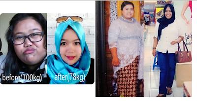 Pengalaman diet sukses menurunkan berat badan 22 kg