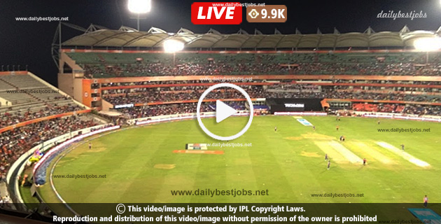 IPL 2019 SRH Vs DC 30th T20 Cricket Live Score