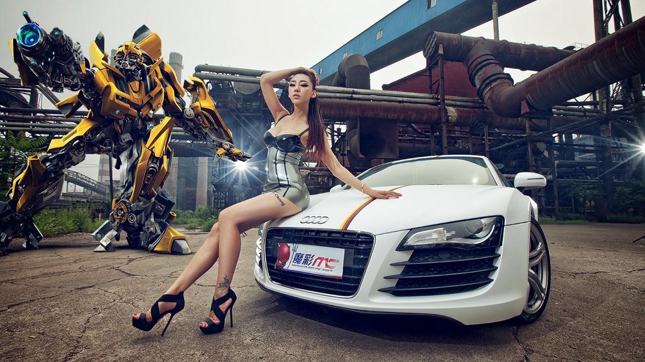 xworld4you  pictorial cu fete si masini tunate