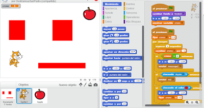 Videojuegos básicos en Scratch