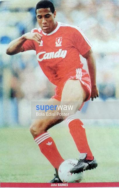 Poster John Barnes (Liverpool)