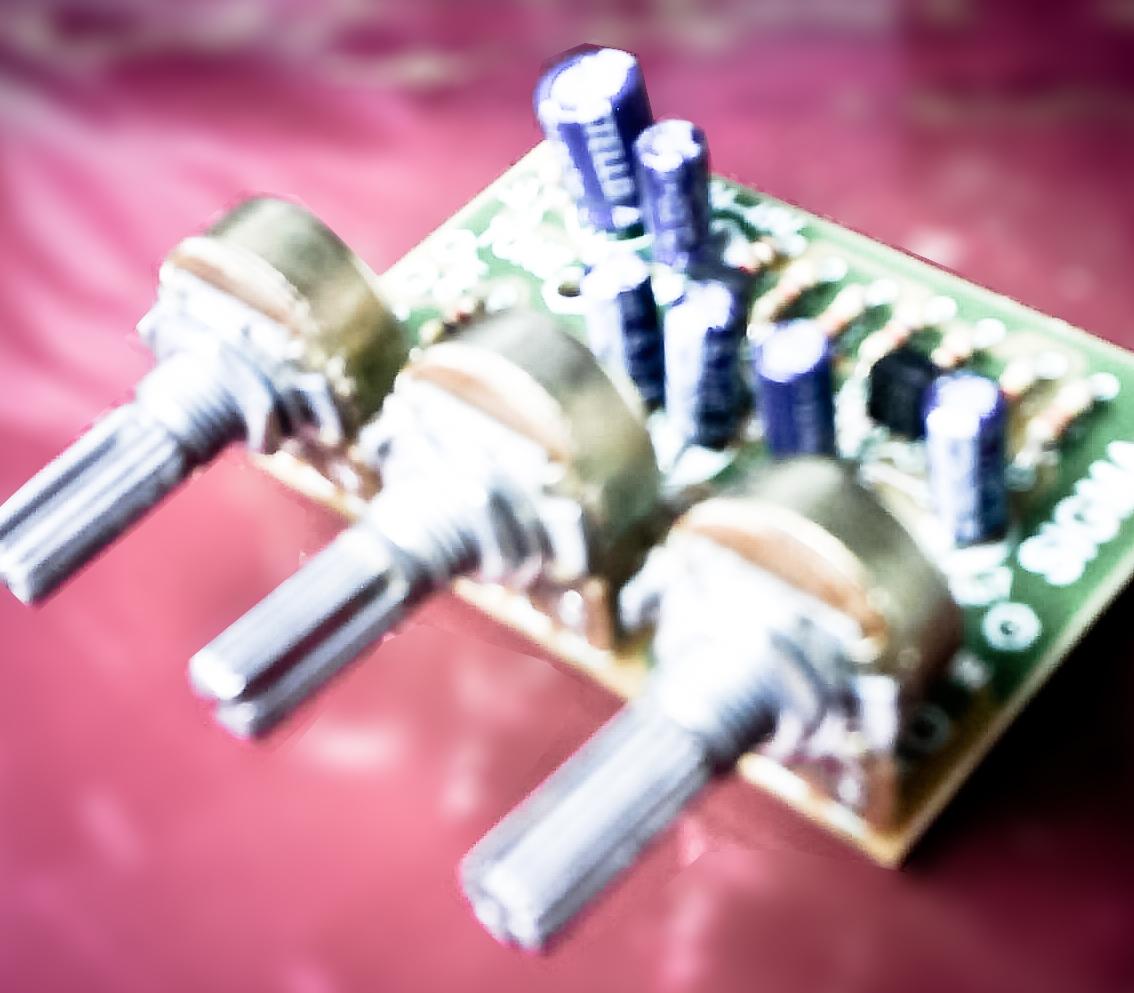 Tone Control Mono Circuit With C828 C945 Diy 2 X 30 Watt Stereo Amplifier By Tda1510