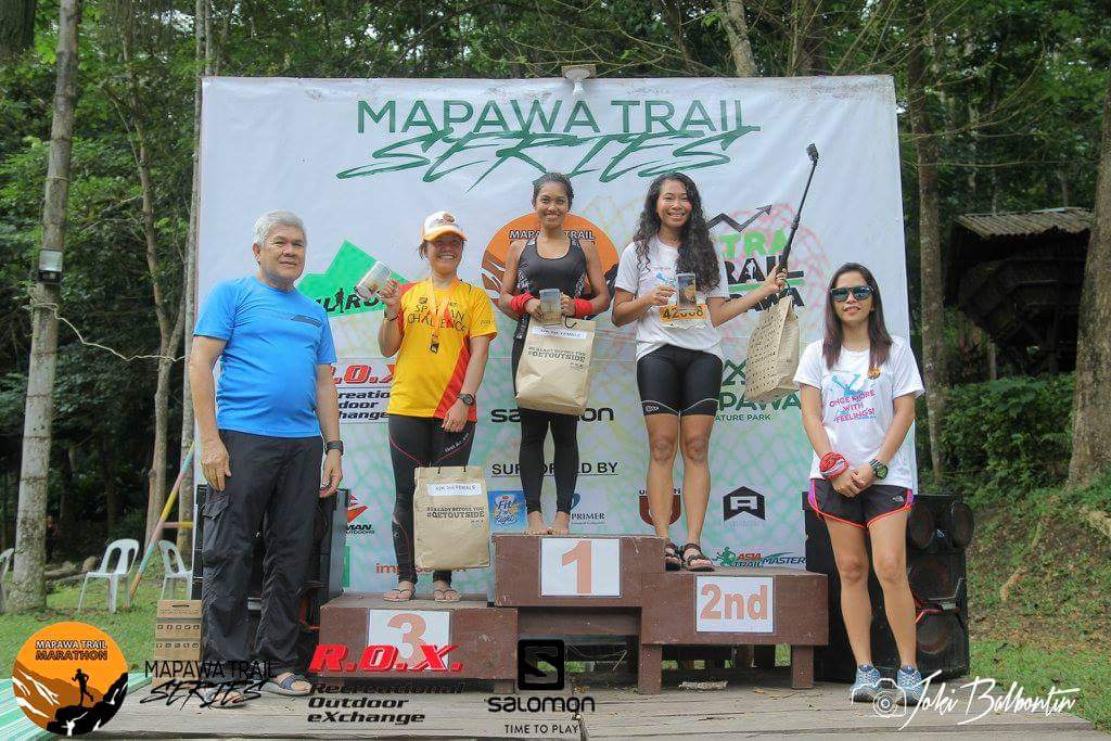 Mapawa Trail Marathon, Mapawa Trail Series, Mapawa Trail Series econd leg, Mapawa Trail, Mapawa, Mapawa Trail 42km Finishers, Trail Run, Johanns cordita, Kenn Baja, Mapawa Trail Run 2017, Mapawa 42km Champion Women's Category,  Cagayan de Oro