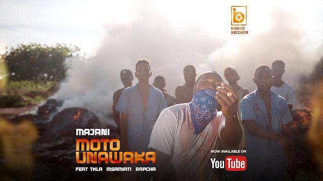 Download Audio | Majani Ft. TKLA, Msamiati & Rapcha – Moto Unawaka