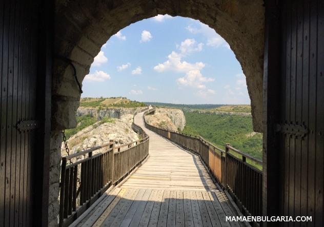 pasarela Torre Norte fortaleza Ovech Provadia Bulgaria
