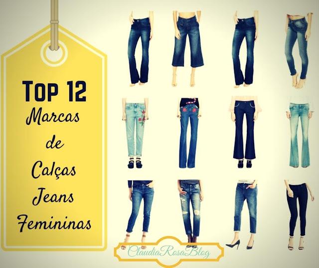 Top 12 Marcas de Calças Jeans Femininas Que Vestem Bem