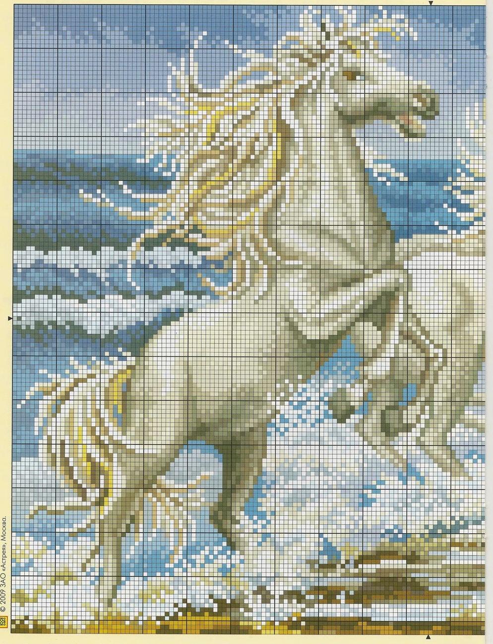 Graficos punto de cruz gratis caballos 35 - Videos de punto de cruz ...